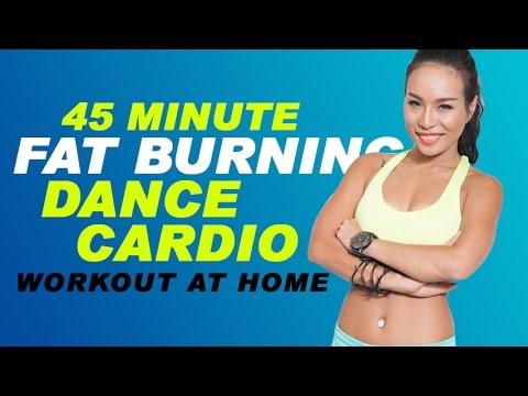45 Minute  Fat Burning Dance Cardio Workout at home | DANCE CARDIO 45 phút giảm mỡ hiệu quả  |