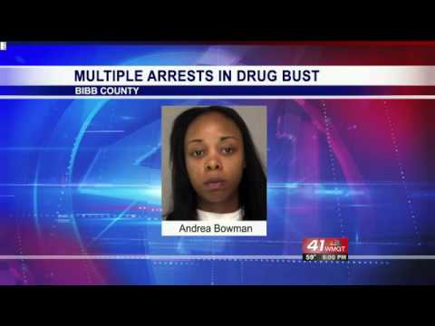 Bibb County corrections deputy arrested in Macon drug bust