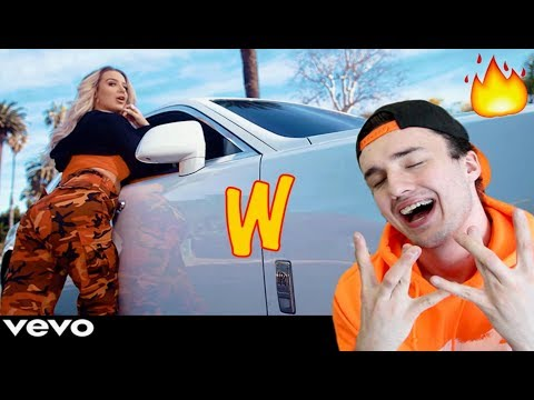 Tana Mongeau - W (Official Music Video) REACTION