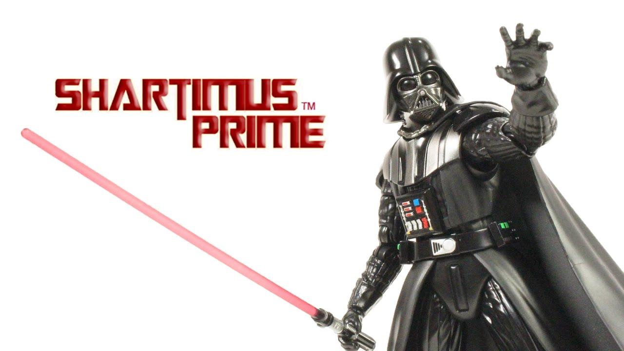 USED VERY GOOD *** Figuarts Darth Vader Vador Star Wars Episode 6 Bandai S.H