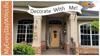 🍎FALL FRONT PORCH DECOR | HOSTED BY HEIDI SONBOUL