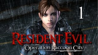 Resident Evil Operation Raccoon City Walkthrough - Part 1 [Mission 1] Containment PS3 XBOX PC