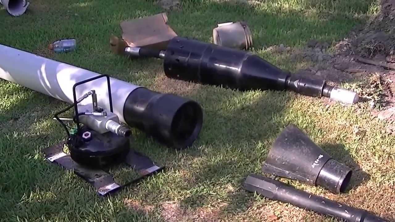 Hammerhead quot impactor pipe bursting operations youtube