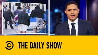 Download Las Vegas Makes Homelessness A Crime | The Daily Show With Trevor Noah Mp3 and Videos