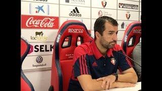 Diego Martínez. Previa Osasuna-Barcelona B