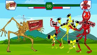 Mega Siren Head War With Piggy, Cartoon Dog Play Game   Roblox Piggy Animation   GV Studio