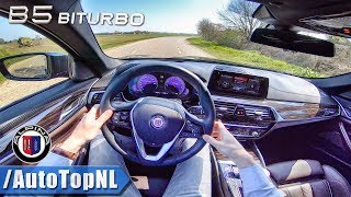 608HP ALPINA B5 BiTurbo Touring 4.4 V8 POV Test Drive by AutoTopNL