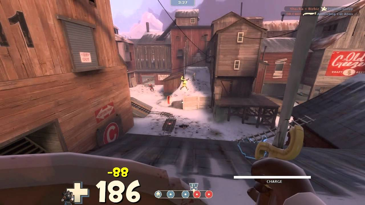 Answer Time: TF2 [Commentary] Demoknight charges Barnblitz - Several questions asked by you guys - answered here. Drop some more for next time!
