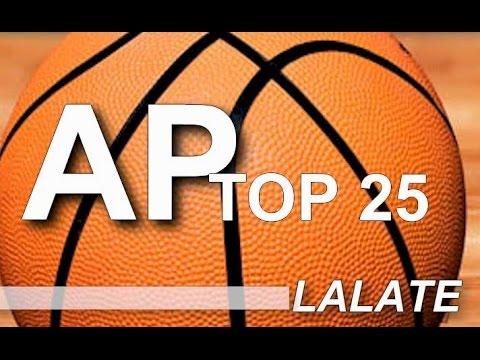 AP Top 25 College Basketball Rankings: NCAA Poll Standings Released