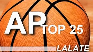 AP Top 25 College Basketball Rankings: NCAA Poll Standings Released