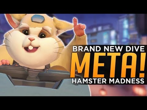 Overwatch: Hammond Main TANK! - PRO Doomfist Dive Comp!