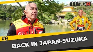 Back racing at lucky Suzuka! Tom coronel in the WTCR with the Honda Civic Type R