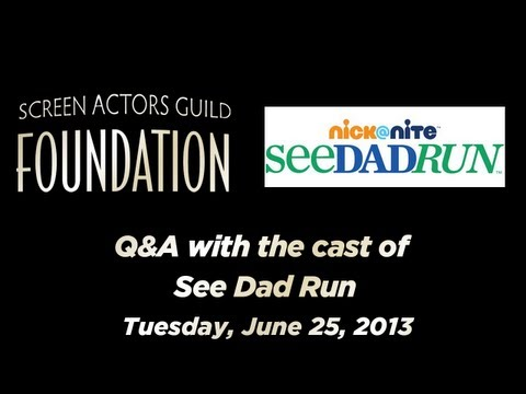 Conversations with Cast and Executive Producers of SEE DAD RUN