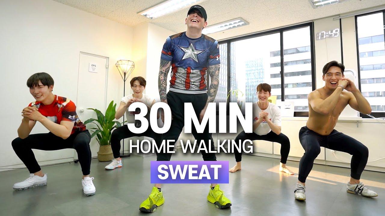 e9. The World of Home Walking(Feat. Dave)💦 | 미국인 데이브와 함께하는 30분 면역 증가 홈워킹!💦
