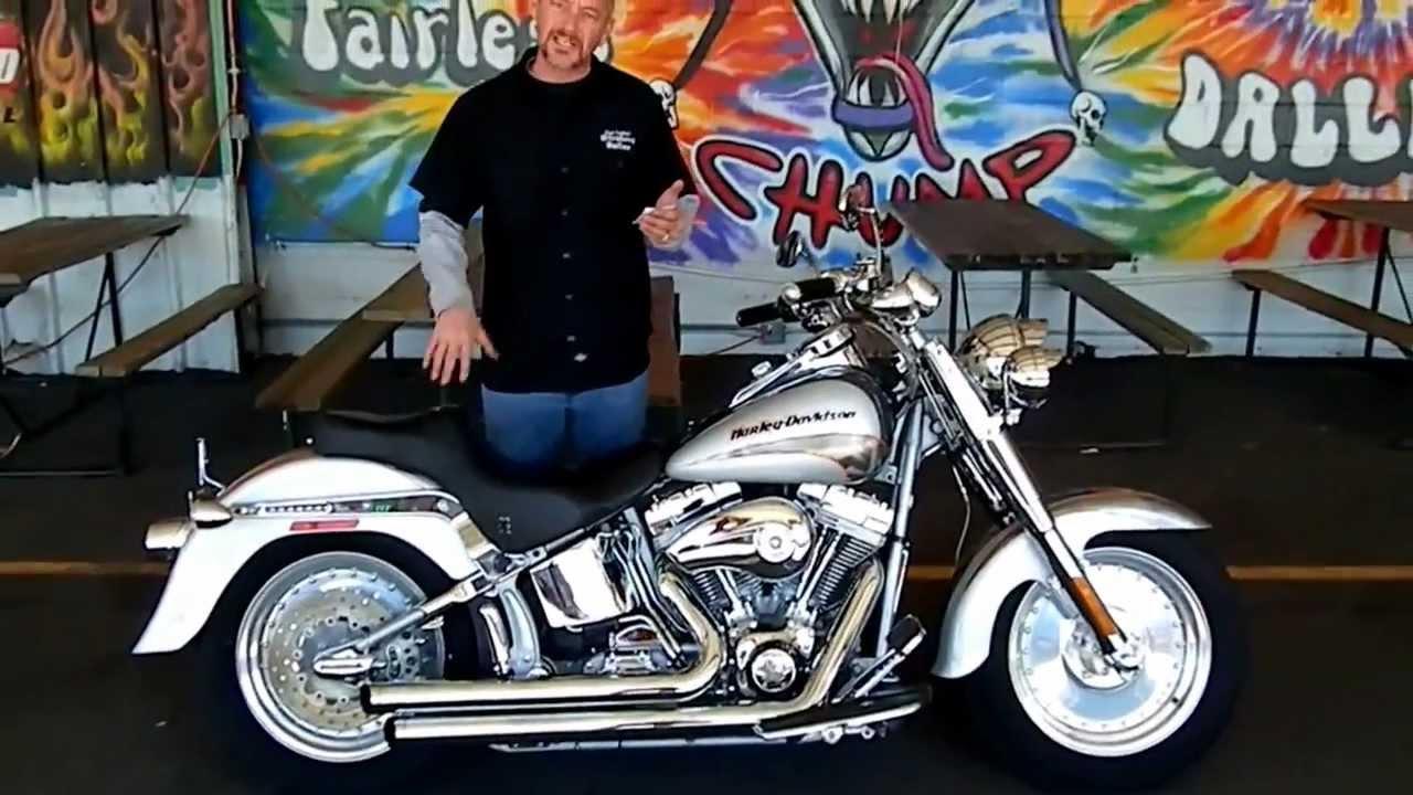 Stokers Dallas 2005 Harley Davidson Screamin Eagle Fatboy 15500