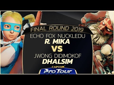 Echo Fox NuckleDu (R. Mika) vs JWong Didimokof (Dhalsim) - Final Round 2019 - Day 1 Pools - CPT 2019