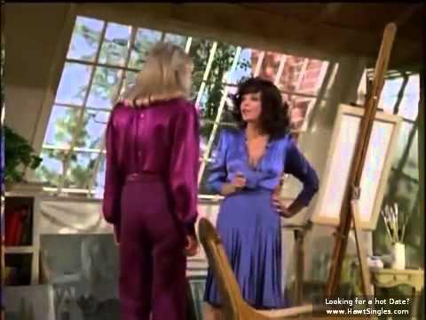 Joan Collins and linda evans catfight scene