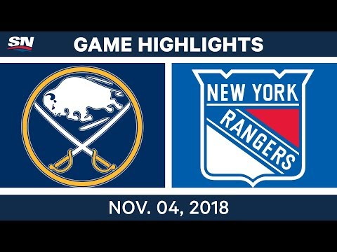 NHL Highlights | Sabres vs. Rangers– Nov. 4, 2018