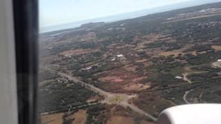 Take off from Menorca Airport MAY 2015