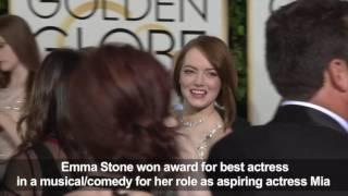 La La Land' waltzes off with big win at Golden Globes