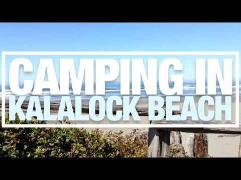 Camping in Kalaloch Beach - FinsVlogs