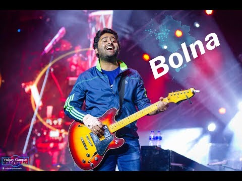 """♫ Arijit Singh Singing """"Bolna"""" On The Piano Live In Rotterdam, The Netherlands 2018"""