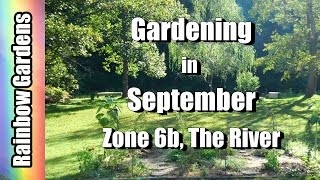 Gardening in September, Zone 6b, The River Garden, Harvest Red & Yellow Peppers + Tomatoes