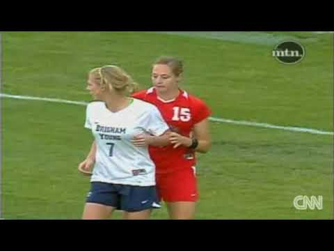 Meanest Soccer Player Elizabeth Lambert Attacks