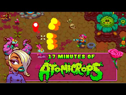 Atomicrops Early Access: 17 Minutes of Raw, Organic, Non-Modified Gameplay