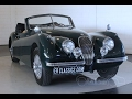 Jaguar XK 120 DHC 1952 -VIDEO- www.ERclassics.com
