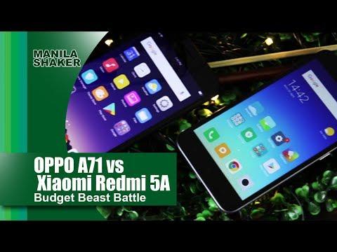Oppo A71 Vs. Xiaomi Redmi 5a — Budget Beast Battle