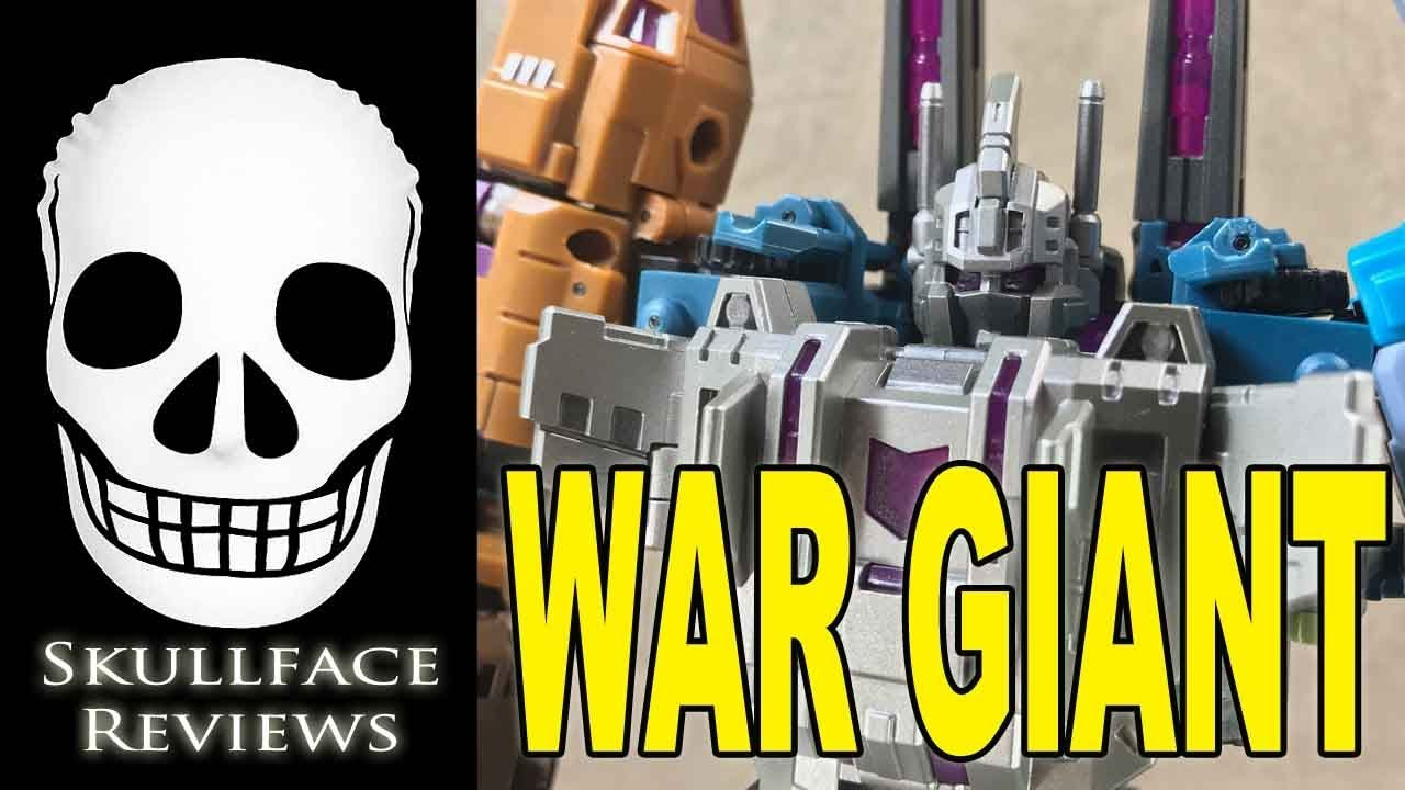 New Iron Factory transforms IF EX-24X War Giant Catastrophe Figure In Stock