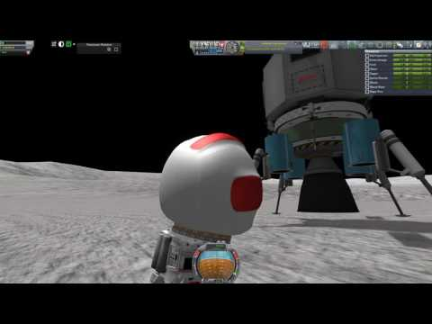 Kerbal Spaceships Are Serious Business - Episode 33 - Lunar Landing