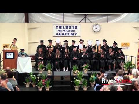 Telesis Preparatory Academy Graduation Ceremony 2015