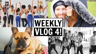 FRENCHIE CONVENTION & BUTT KICKING | WEEKLY VLOG 4