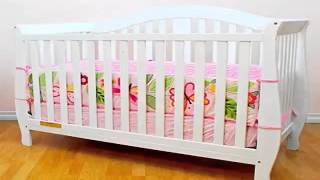 Get Athena Afg Desiree 4 In 1 Convertible Crib, White Best