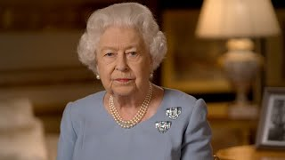video: Queen's VE Day anniversary message to Britain: 'Never give up, never despair'