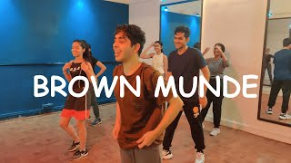 Brown Munde -AP Dhillon Gurinder Gill Shinda Kahlon GMINXR Dance Workshop | Sarth Kalra Choreography