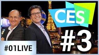 CES Las Vegas 01LIVE #3 : révolution dans la maison connectée
