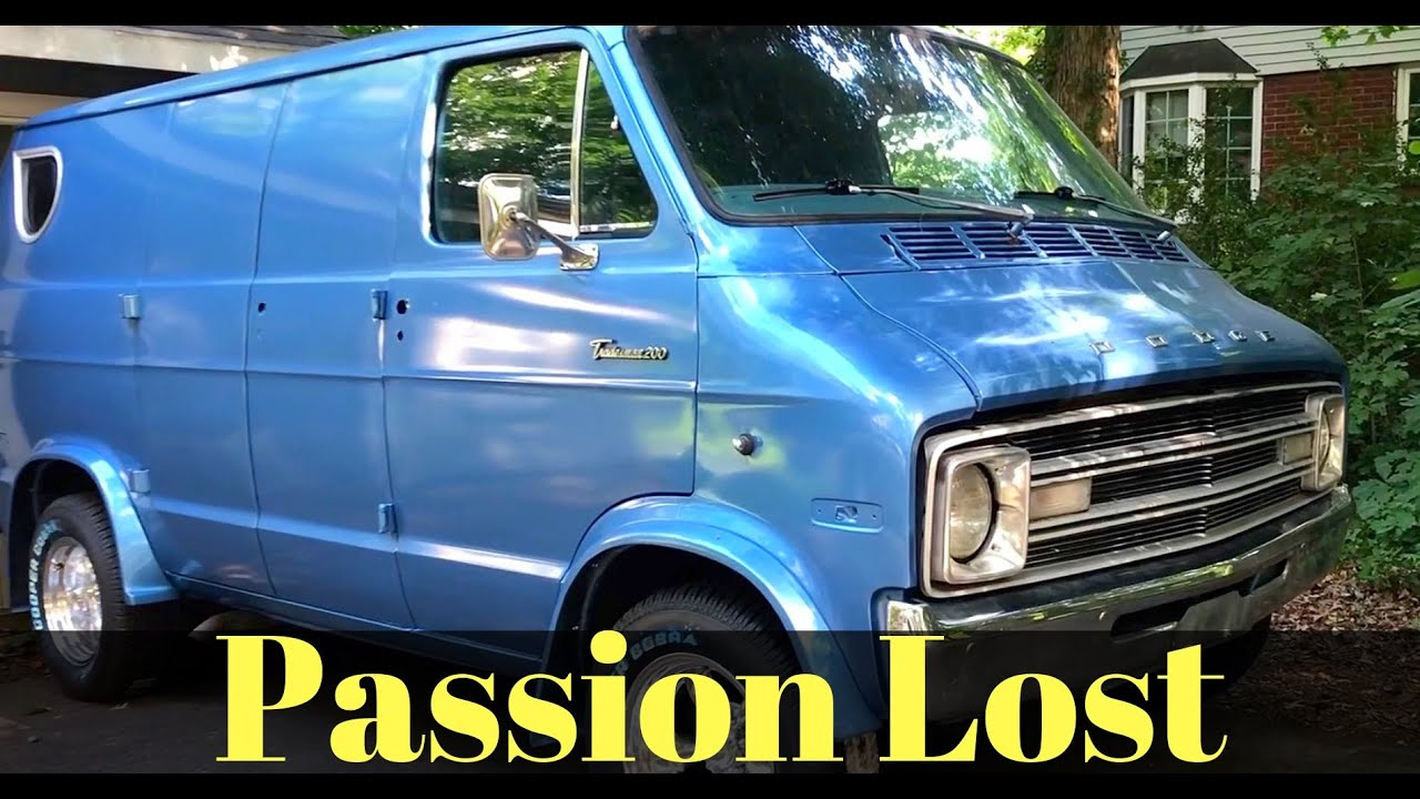 1977 Dodge Custom Street Van and Here's Why I'll Never Customize Another Van