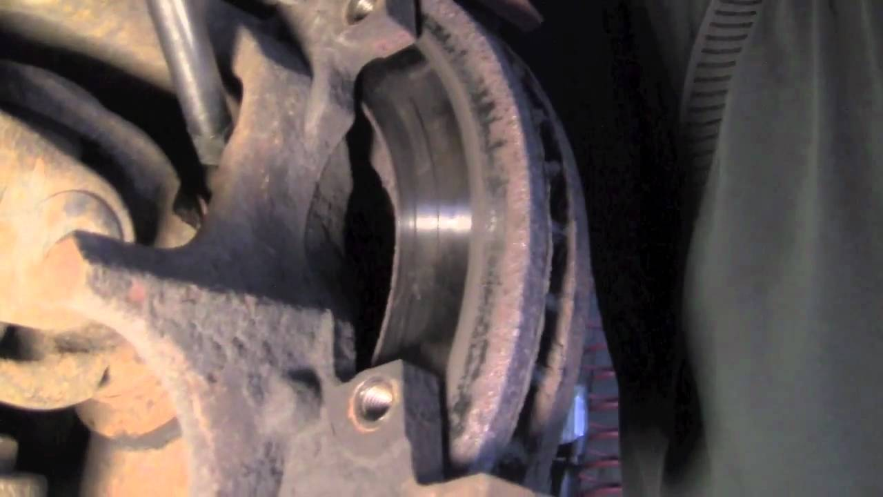 Removing A Stubborn Dodge Brake Rotor Youtube
