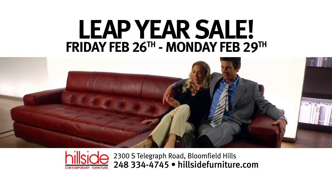 Hillside Furniture Leap Year Sale 2016 Youtube