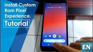 Pixel experience rom flashing method