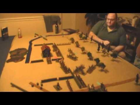 AWI Freeman's Farm Wargame using British Grenadier