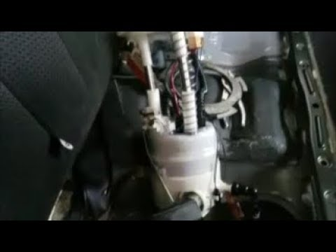 how to replace a fuel pump in a 2009 nissan rogue - youtube  youtube