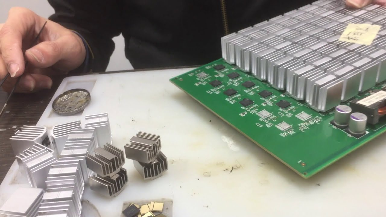 antminer D3 hash board repair
