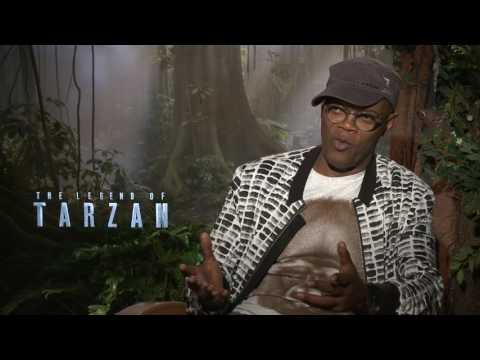 The Legend of Tarzan Interview - Samuel L Jackson
