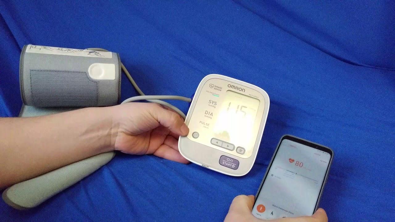 omron 5 vs samssung galaxy s9 heart rate sensor test