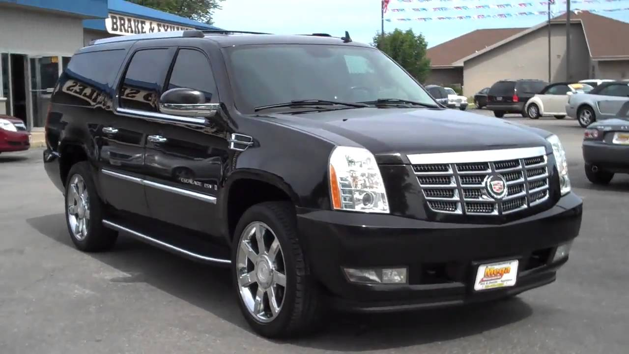 2007 cadillac escalade esv youtube. Cars Review. Best American Auto & Cars Review