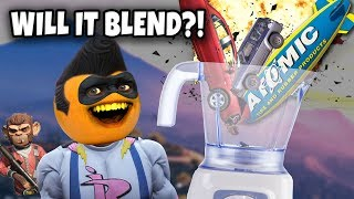 Adventures of Buttman #28: WILL IT BLEND?! (Annoying Orange GTA V)